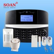 New design multi functions remote control system alarm security wireless smart security alarm system sensitive sensor control