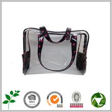 Wholesale transparent pvc fashion cosmetic bag