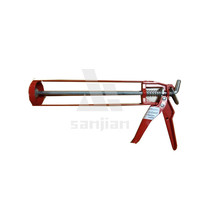 "2014 the newest style 9"" manual skeleton type caulking gun SJIE3002B(silicone gun,silicone applicator gun,silicone sealant gun)"