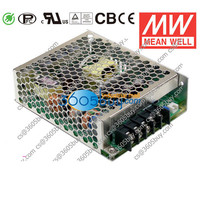 HRP-75-5 75W 5V15A PFC MeanWell power supply switch with low loss