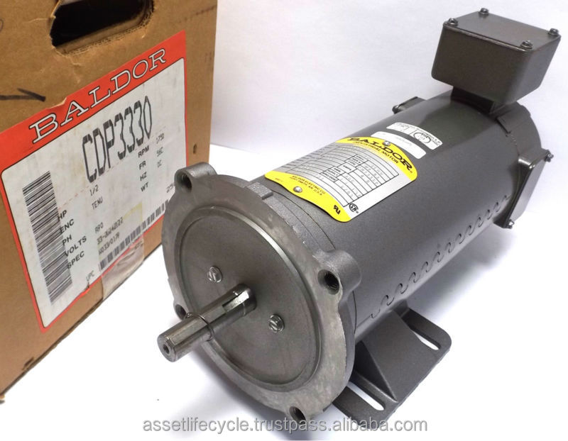 new baldor cdp3330 dc electric motor 1750 rpm hp 5 type
