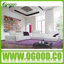 Singapore Living Room Chesterfield Sofa/Living Room Leather Sofa Set