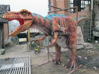 Amusement park adult realistic animal costume