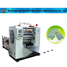 Hand towel paper making/folding Z fold machine New condition PLC Control