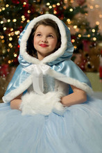 Latest hot selling lovely cinderella dresses costume for girls QKC-1817