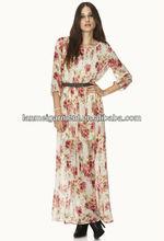 maxi vestido de gasa vestidos de nuevo diseño en colores pastel vestido de color