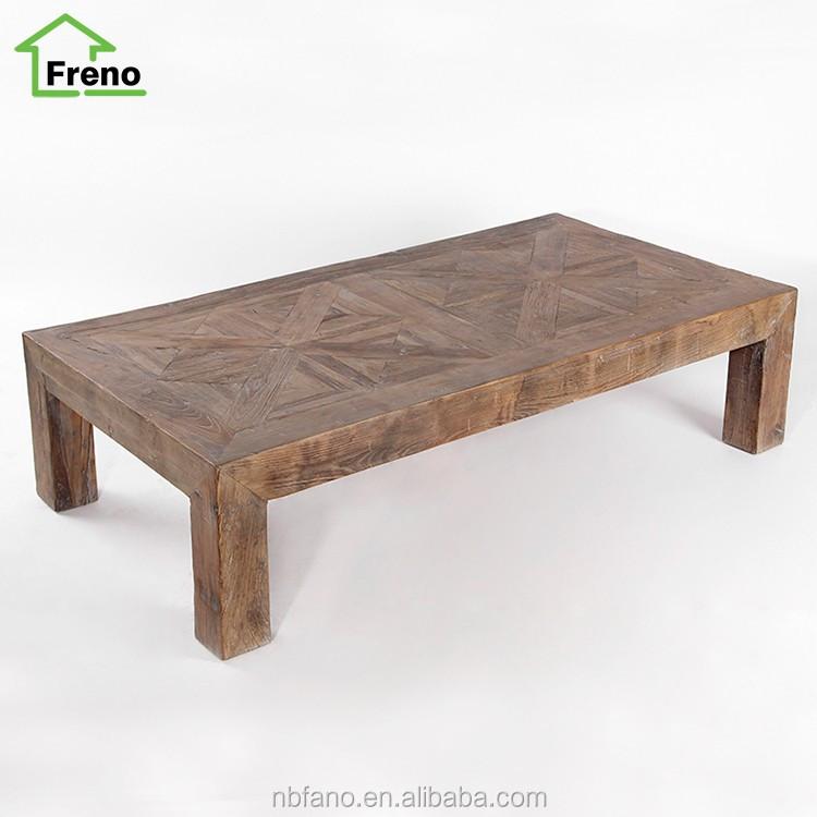 En bois massif fran ais provincial meubles vintage - Table basse classique ...