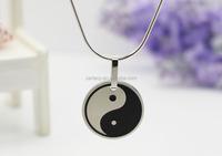 New fashion yin yang pendant stainless steel pendants yin and yang,new arrival product yin yang jewelry