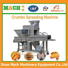 Automatic Drum Breader and Meat Pie Coating Machine