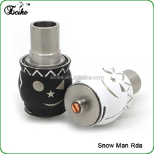 Hong kong wholesale 1:1 clone snow man rda clone snow man rda