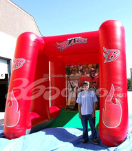 Custom Boston Blazers inflatable sport booth