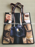 2015 express pictures printing non woven shopping bag&recycle non woven bag