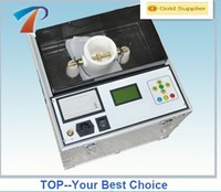 Fully auto transformer oil test instrument,boosting,voltage holding,stirring,discharge,calculate