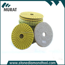 Abrasive Tools - stone / concrete floor polishing pads for dry or wet grinding