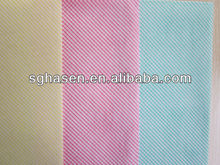 eco friendly chemical bond non woven/nonwoven fabric for all purpose cleaning cloth
