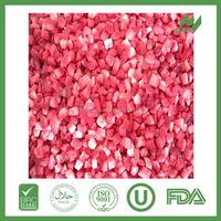 Good quality seedless frozen strawberry