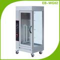 Cosbao kithchen equipamentos vertical açoinoxidável gás frango assado( eb- wg02)