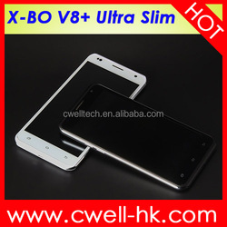 X-BO V8+ Android Smartphone 5.5 Inch QHD Screen 5.0MP Camera low price oem mobile phone