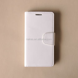 Flip Leather Case For Samsung Galaxy S5, PU Wallet Case With View Window