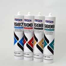 High Temperature RTV silicon sealant 310ml, silicone sealant for automobile, silicone sealant 650F