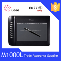 Ugee M1000L 10x6 inches usb 2048 levels Cheap Graphic Tablet