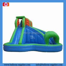 Hot adventure commercial grade inflatable water slides inflatable toys for outdoor sports