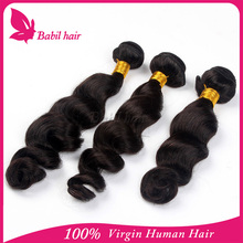 6A Grade Unprocessed Cheap Remy Virgin Peruvian Hair Weaves Pictures