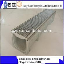 concreto del canal lineal para vehículo pesado de uso del parque