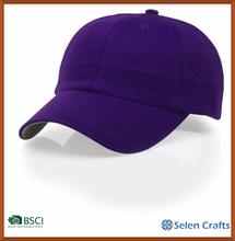 Hot Selling fashion plain dyed sport cap