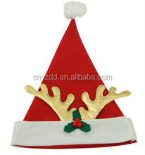 Various Sizes of Plush Santa Hat for adults in 2015 christmas eve