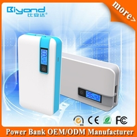 10000 mAh Portable Battery Pack, External Battery Pack, High Capacity Power Bank Charger, Dual USB output 5V/ 2Ah &1Ah
