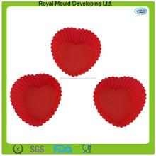 categoría alimenticia molde de pastel de taza de silicona