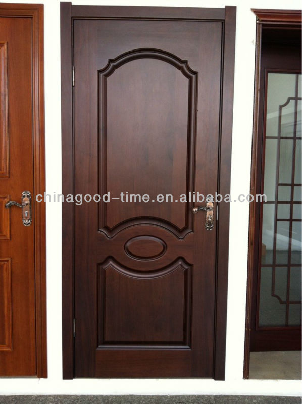 Outstanding bedroom door designs in wood contemporary for Simple main door design