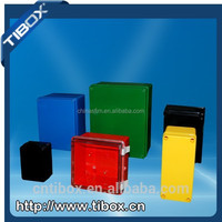 outdoor plastic enclosure IP66 electrical power box, control distribution box plastic housing with UL