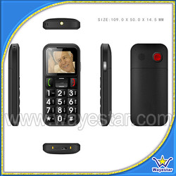 1.77 inch Screen Big Keyboard Mobile Phone for Elderly with MTK6260 CPU
