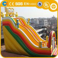 Inflatable spongbob slide , spongbob character inflatable slide , inflatable n slip slide