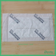 hot sale factory price artwork printed medical sterile blood absorbent meat pad for absorbing excess liquid and keep food fresh