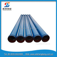 "4.8"" (123.4mm) 3.0mm+1.5mm Wall Thickness (Double Wall) 59-61 Rc concrete delivery pipe"