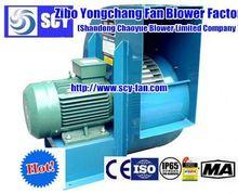 backward inclined chemical centrifugal fan