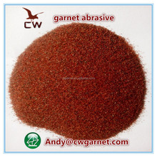 CW Garnet sand for blasting abrasive /water jet cutting /water filtration /sand paper