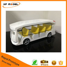 Custom design 1:10 scale car model acrylic / abs material CNC rapid prototype