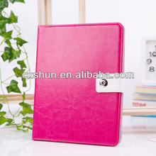 2014 New Product Carzy horse Luxury leather case for ipad mini