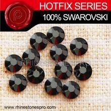 Swarovski Elements Fashionable Jewelry Jet Hematite (280 HEM) 8ss Crystal Iron On Hot Fix Rhinestone