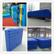 Cheap plastic pallet, container pallet price, warehouse pallet
