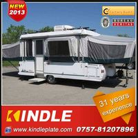 Kindle Professional heavy duty pop-up camper trailer for car
