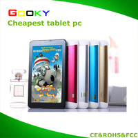 Customized 6 inch android tablet pc dual cameras 5mp gps