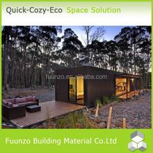 Full furniture Modern Beautiful Prefab Steel Villa