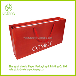 Extra Large Strong Stand Matt Lamination Paper Shopping Bags with Handles and Company Logo Printed