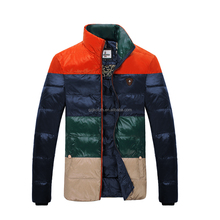Fashion Men breathable Down Jacket with hot selling for winter 15016