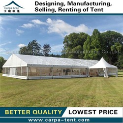 factory direct Arabic style wedding tent with aluminum , romantic wedding tent produced in Guangzhou Carpa